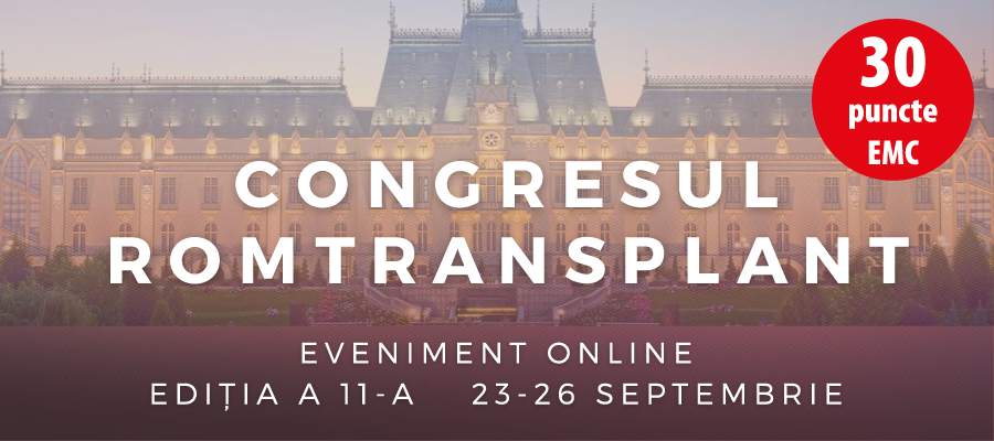 Cel de-al XI-lea Congres al Asociației Romtransplant
